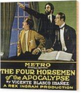 The Four Horsemen Of The Apocalypse Wood Print