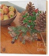 The Fragrance Of Christmas  Wood Print