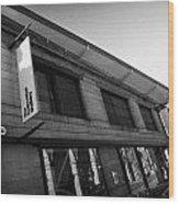 The Fruitmarket Gallery Edinburgh Scotland Uk United Kingdom Wood Print