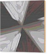 The Fulcrum Wood Print