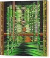 The Gateway To Broccoli Wood Print by Mimulux patricia no No