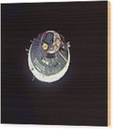 The Gemini 7 Spacecraft Wood Print