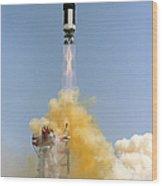 The Gemini-titan 4 Spaceflight Launches Wood Print