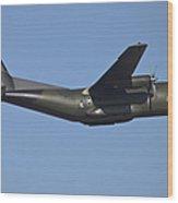 The German Air Force C-160d Transall Wood Print