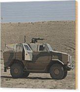 The German Army Atf Dingo Armored Wood Print