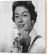 The Girl Rush, Rosalind Russell, 1955 Wood Print by Everett