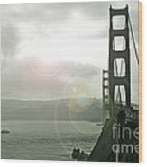 The Golden Gate Bridge Wood Print