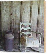 The Good Ole Days Wood Print