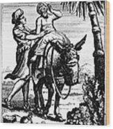 The Good Samaritan Wood Print