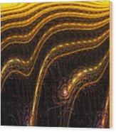 The Grain Field Wood Print