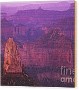 The Grand Canyon North Rim Wood Print