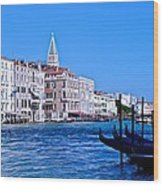 The Grand Of Venice Wood Print