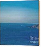 The Great Atlantic At Slieve League Wood Print