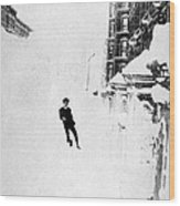 The Great Blizzard, Nyc, 1888 Wood Print by Science Source