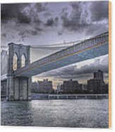 The Great Bridge Wood Print