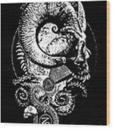 The Great Horned Secret  Wood Print
