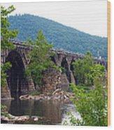 The Great Old Bridge Wood Print