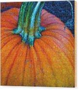 The Great Pumpkin Wood Print by Glenna McRae