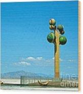 The Great Salt Lake Utah Wood Print