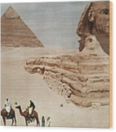 The Great Sphinx And The Second, Or Wood Print