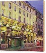 The Gresham Hotel Dublin, Oconnell Wood Print