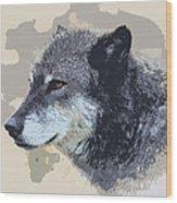 The Grey Wood Print