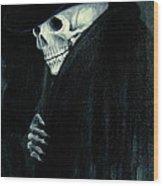 The Grim Reaper Wood Print