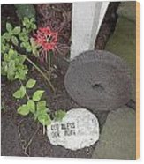The Grinding Stone Wood Print