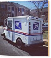 the grumman llv delivers the mail cars greeting card for sale by rh instaprints com Grumman LLV Custom Grumman LLV Engine