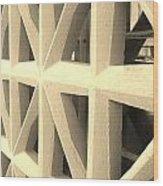 The Guard Wood Print