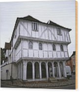 Thaxted Guildhall Wood Print