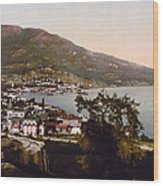 The Gulf Jalta -ie Yalta - The Crimea - Russia -ie- Ukraine Wood Print