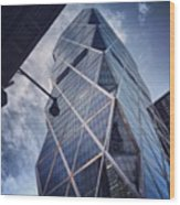 The Hearst Building Wood Print