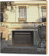 The Hearst Gymnasium For Women . Uc Berkeley . 7d10192 Wood Print