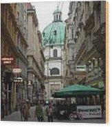The Heart Of Vienna Wood Print