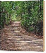 The High Road Wood Print