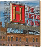 The History Channel Wood Print