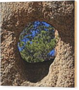 The Hole In The Boot Wood Print