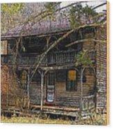 The Homestead Wood Print by Joyce Kimble Smith