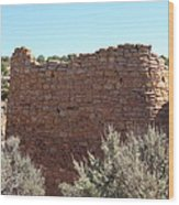 The Hovenweep Twin Towers Wood Print