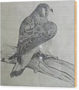 The Hunter Wood Print