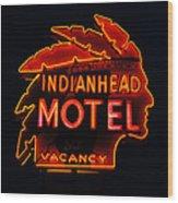 The Indianhead Wood Print