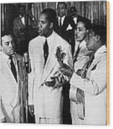 The Ink Spots, C1945 Wood Print