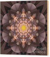 The Inner Radiance Wood Print