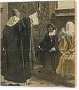The Inquisitor-general, Tom�s De Wood Print