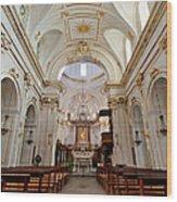 The Interior Of Santa Maria Assunta Wood Print