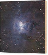 The Iris Nebula Wood Print