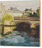 The Irish Bridge Wood Print