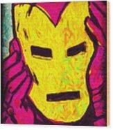 The Iron Scream Wood Print