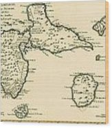 The Islands Of Guadeloupe Wood Print